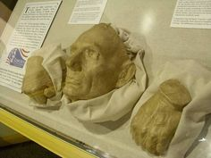 Lincoln's death mask and hand casts were once at Walter Reed Medical Museum, but they are now at the National Medical Museum in D.C.