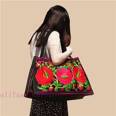Yunnan Ethnic Embroidery Handbags-257