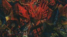 George Grosz, - Explosion, 1917.