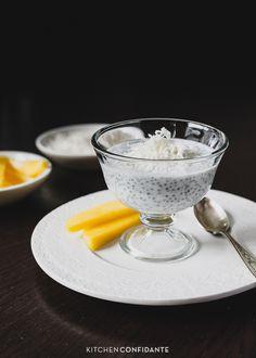 Coconut Chia Pudding | www.kitchenconfidante.com