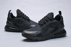 Black Nike Sneakers, Winter Sneakers, Brown Sneakers, Black Nikes, Nike Air Max For Women, Mens Nike Air, Nike Men, Triple Black, Air Max 270