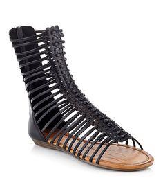 Love this Black Terry Sandal on #zulily! #zulilyfinds