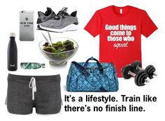 """""""The Gym and Fitspo Life"""" by bookworm528 on Polyvore featuring Boohoo, adidas, Vera Bradley, S'well and Nambé"""