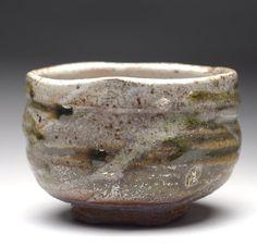 Shino Matcha chawan green teabowl by Cory Lum CL612b by corylum, $148.88