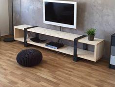 82 veces he visto estas radiantes muebles minimalistas. Tv Furniture, Diy Furniture Plans, Classic Furniture, Living Room Furniture, Furniture Design, Tv Stand Decor, Tv Stand Designs, Muebles Living, Living Room Tv