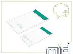 Envelope A4 e A5 criados para o cliente Nova Ambiental, de Angola