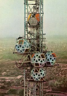 Expo Tower, Osaka, Japan. Kiyonori Kikutake, 1970.