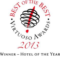 We are honoured and delighted to have just been voted 'Hotel of the Year' by Virtuoso
