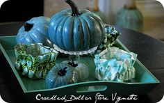 Upscale Pumpkin Decorations