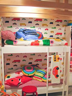 Awesome Marimekko kids room!!