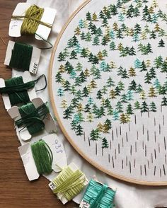 feeling stitchy: Friday Instagram Finds No. 87 with Forest Fibers