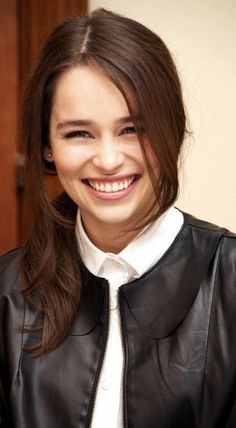 Emilia Clarke. My current girlfriend. Not only do I get to see her naked on TV, but she's also very gorgeous and very very sweet.