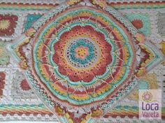 Carpeta de mesa de 50 cm x 50 cm + camino de mesa de 60cm x 150 cm, tejido a…