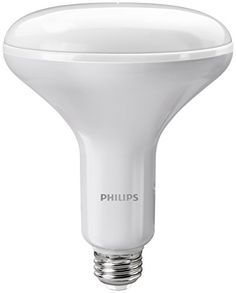 Philips 457010 65 Watt Equivalent BR40 Dimmable Soft White Performance Reflector, 6 pack