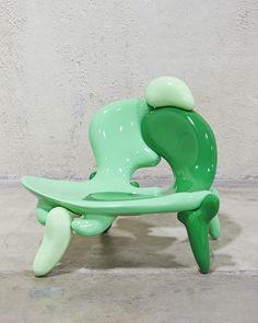 Art Furniture, Furniture Design, Diy Crochet Rug, Kelly Wearstler, Architecture, Design Art, Shapes, Abstract, Interior