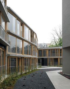 Bioclimatic building of social housing in Paris