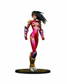 DC Direct Ame-Comi Heroine Series: Donna Troy as Wonder Girl Variant PVC Figure by DC Direct. $31.99. Sculpted by Jack Mathews. Stands approximately 8.5 H. Packaged in a 4-color window box with J-hook. Includes display base. Non-articulated PVC statue. Sculpted by Jack Matthews.  Donna Troy returns … as Wonder Girl. Suiting up in sparkling stars and red with galaxies in her hair, it's hard to believe founding member of the Teen Titans, Wonder Girl (Donna T...
