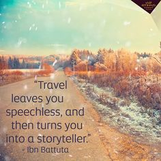 What's your best travel story?  #TravelQuote #IbnBattuta #Quote #InstaQuote #TravelStories #InstaStory #Explore #Discover by etihadairways