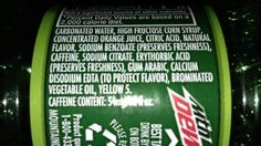 Mountain Dew Mountain Dew is one of the most damaging drinks to the body in my opinion. Everything from high sugar levels to caffeine to preservatives and brominated vegetable oil make it a health ...