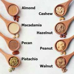 Nut butter recipes