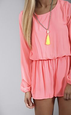 this perfect romper can take you from Summer into Fall!