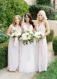 Bridesmaids Wedding Inspiration - Style Me Pretty