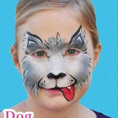 best dog face paint - Google Search