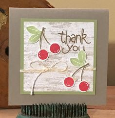 Trinity Designs: Apple of My Eye - A Sneak Peek! Note Cards, Thank You Cards, Scrapbook Cards, Scrapbooking, Stampin Up Catalog, Card Tags, Stamping Up, Diy Cards, Stampin Up Cards