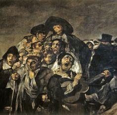"""Francisco de Goya: """"La Romería de San Isidro"""" (detail)"""
