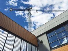 commercial project is a two-storey concrete tilt-up structure. tilt up wall braces developmen