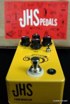 JHS - 4 Wheeler Fuzz V2 (used) Bass or Guitar Fuzz