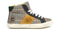 D.A.T.E. Kids, le sneakers alte in tessuto della collezione Autunno Inverno 2014-2015