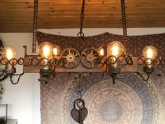 Chandelier, Ceiling Lights, Lighting, Home Decor, Old Lamps, Restore, Homemade Home Decor, Candelabra, Light Fixtures