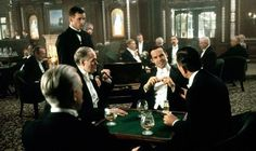Ch 2.4 White's Club, St James St. In their heyday clubs were all-male bastions for the very wealthy. Pictured, Billy Zane in 'Titanic'