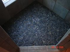 Image Detail for - Pebble stone shower floor - Bathrooms Forum - GardenWeb