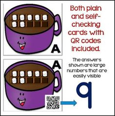 "FREE MATH LESSON - ""Winter Numbers & Counting w/ Ten Frames Differentiated QR Code Task Cards Free"" - Go to The Best of Teacher Entrepreneurs for this and hundreds of free lessons.  Pre-Kindergarten - Kindergarten   http://www.thebestofteacherentrepreneurs.com/2016/12/free-math-lesson-winter-numbers.html"