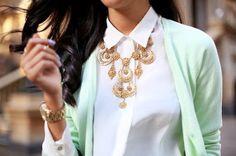 #diamanti #collana #camiciabianca