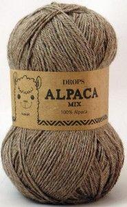 włóczka Drops ALPACA 618 jasny beż