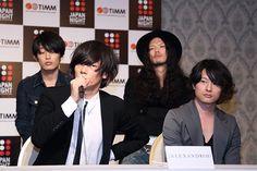<JAPAN NIGHT in TIMM>記者会見で[Alexandros]、サカナクション、VAMPSが日本の音楽をアピール | JAPAN NIGHT | BARKS音楽ニュース