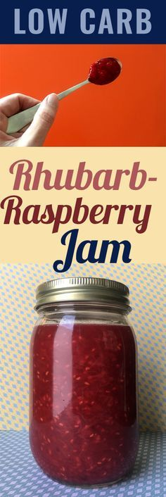 If you are going to commit to a low carb diet, then you'd do well to make a friend of rhubarb. This recipe for Low Carb Rhubarb Raspberry Jam is just the thing if you have a hankering for rhubarb. This recipe is Low Carb, Keto, Paleo, Atkins, LCHF, Sugar Free and Gluten Free.
