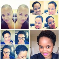 From BC to TWA. To learn how to grow your hair longer click here - http://blackhair.cc/1jSY2ux