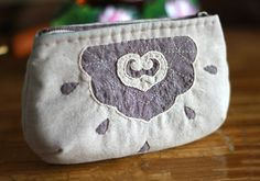 Zippered Pouch / Cosmetic Bag / Make up Bag. DIY. Tutorial with Photos.