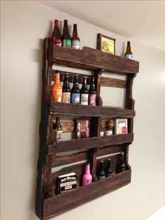 pallet/ home brew shelf ... For cellaring craft beers??? or putting many other things on.