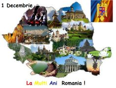 Great Union Day occurring on December is the national holiday of Romania. It commemorates the assembly of the delegates of ethnic Romanians held in Alba Iulia, which declared the Union of Transylvania with Romania. Romania Map, Romania Travel, Bucharest Romania, Visual Map, Travel Maps, Touring, Beautiful Places, Places To Visit, Landscape