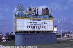 Mai Kai movie theatre (single screen), 1963-1988, Livonia, Michigan (1988-1992 was Omni Theatre for live events; 1992-1993 was George Burns Theatre for live theatre) Capacity: 1,400