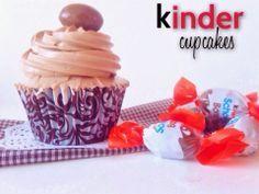 Cooking Cin: Cupcakes de Kinder Bueno
