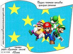 Imprimibles, imágenes y fondos de Super Mario Bros 4.