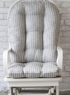 Glider Cushions/Rocker Cushions/ Rocking Chair Cushions/ | Etsy Glider Rocker Cushions, Rocking Chair Cushions, Seat Cushions, Custom Cushions, Sit On Top, Fabric Names, Cushion Fabric, Gliders, Custom Made