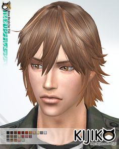 Kijiko Sims: Spiky Layered hairstyle for him - Sims 4 Hairs - http://sims4hairs.com/kijiko-sims-spiky-layered-hairstyle-for-him/