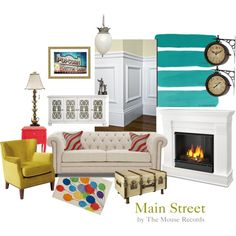 Disney Inspired Interiors: Bring Main Street to your Living Room.